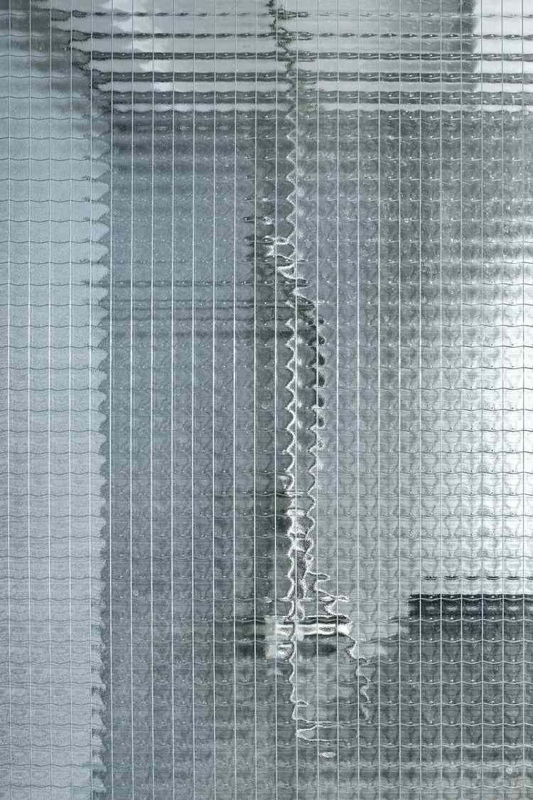 douche en verre mosaique salle de bain