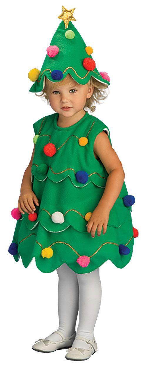 10 Home Made Christmas Tree Costume Ideas For Girls Kids 2014 3 Jpg 500 1249 Christmas Tree Costume Tree Costume Toddler Christmas Tree
