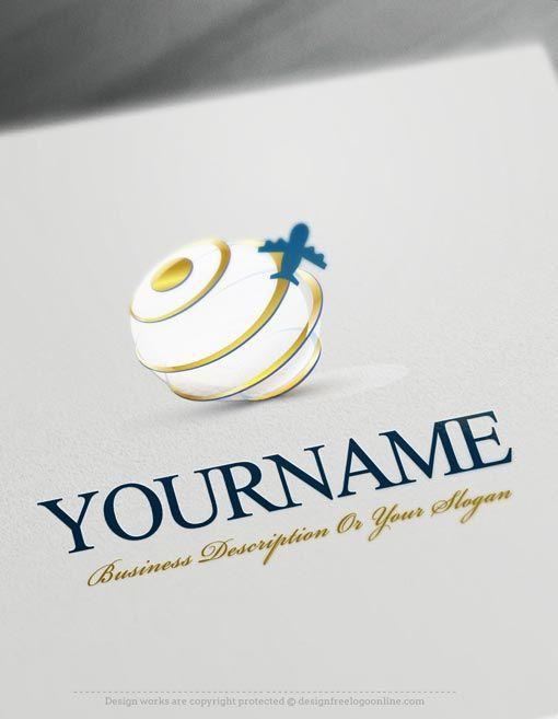 Design Free Logo Globe Travel Online Logo Templates