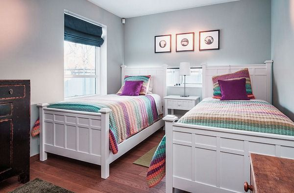 Stunning Twin Bed Decorating Ideas Images - Decorating Interior ...