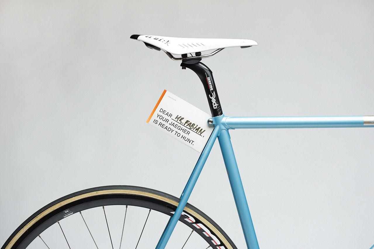 Jaegher race cycle frames