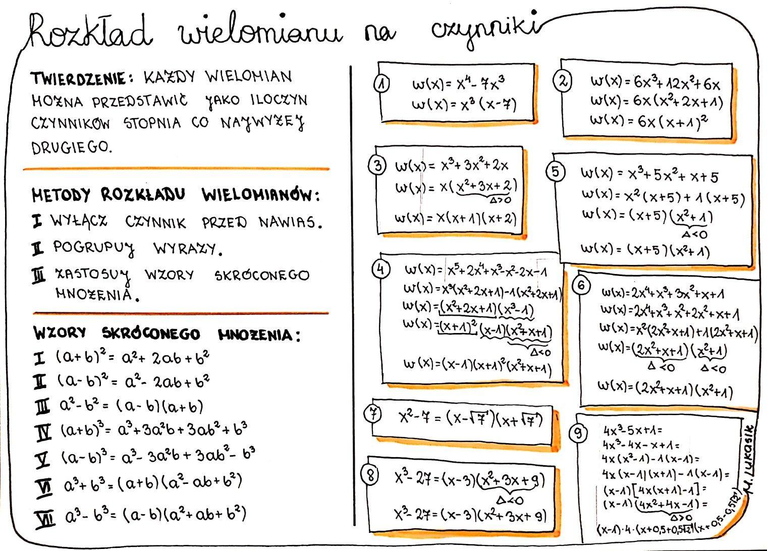 Pin By Sylwia On Matematyka Klasa 8 Szkola Nauczanie