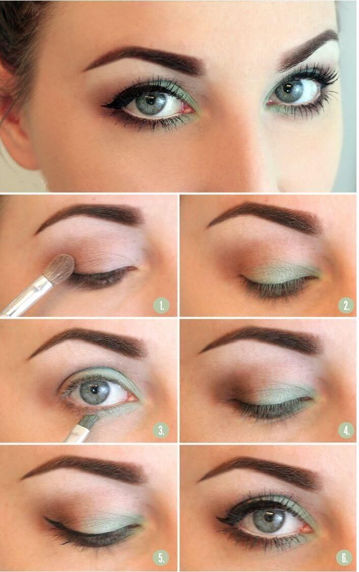 Maquillaje de ojos para el verano | Decoración de Uñas - Manicura y Nail Art