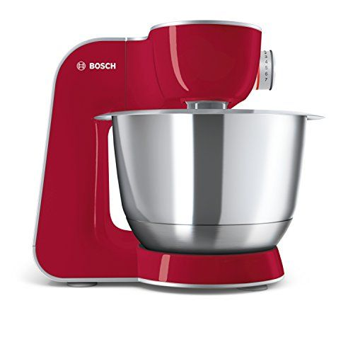 Bosch Electromenager Mum58720 Rmcikfor00024 Robot Menager 1000 W Rouge Robot Cuisine Multifonction Robot Menager Bol Inox