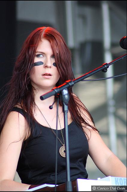 Emmi Silvennoinen  Keyboardist From Ensiferum -6984