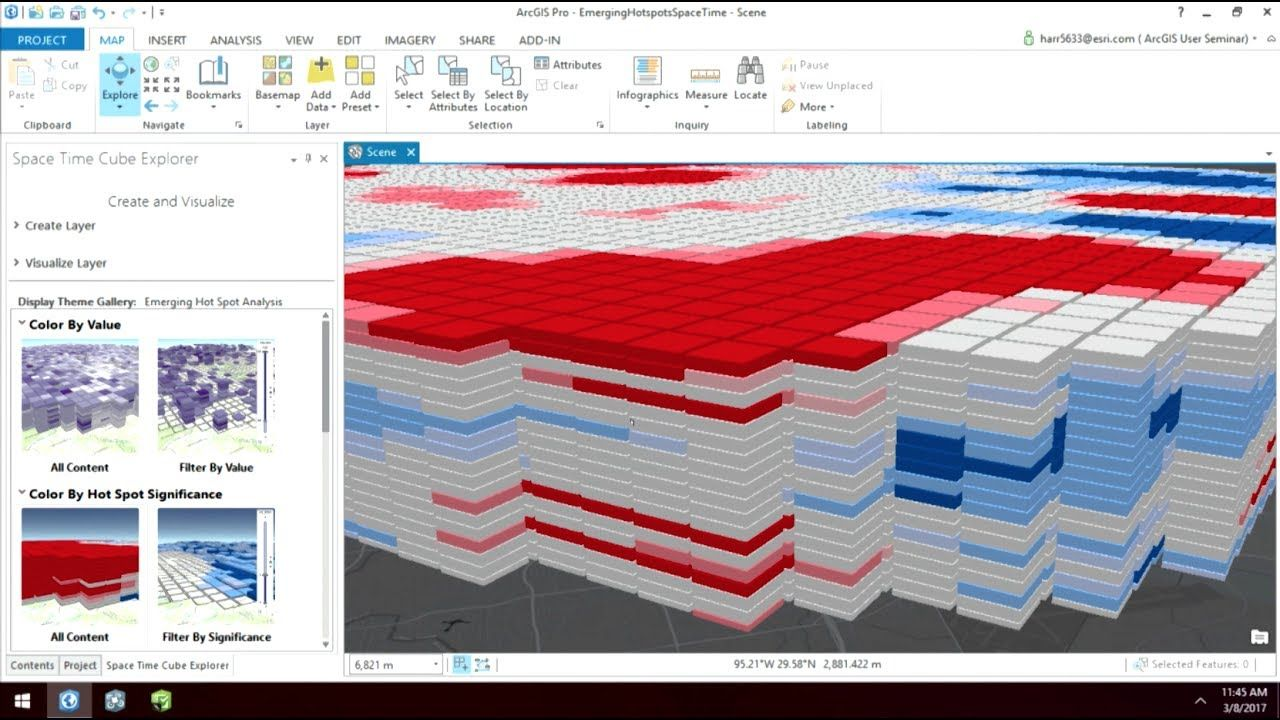 ArcGIS User Seminar Time-Enabled 3D Spatial Analysis using a