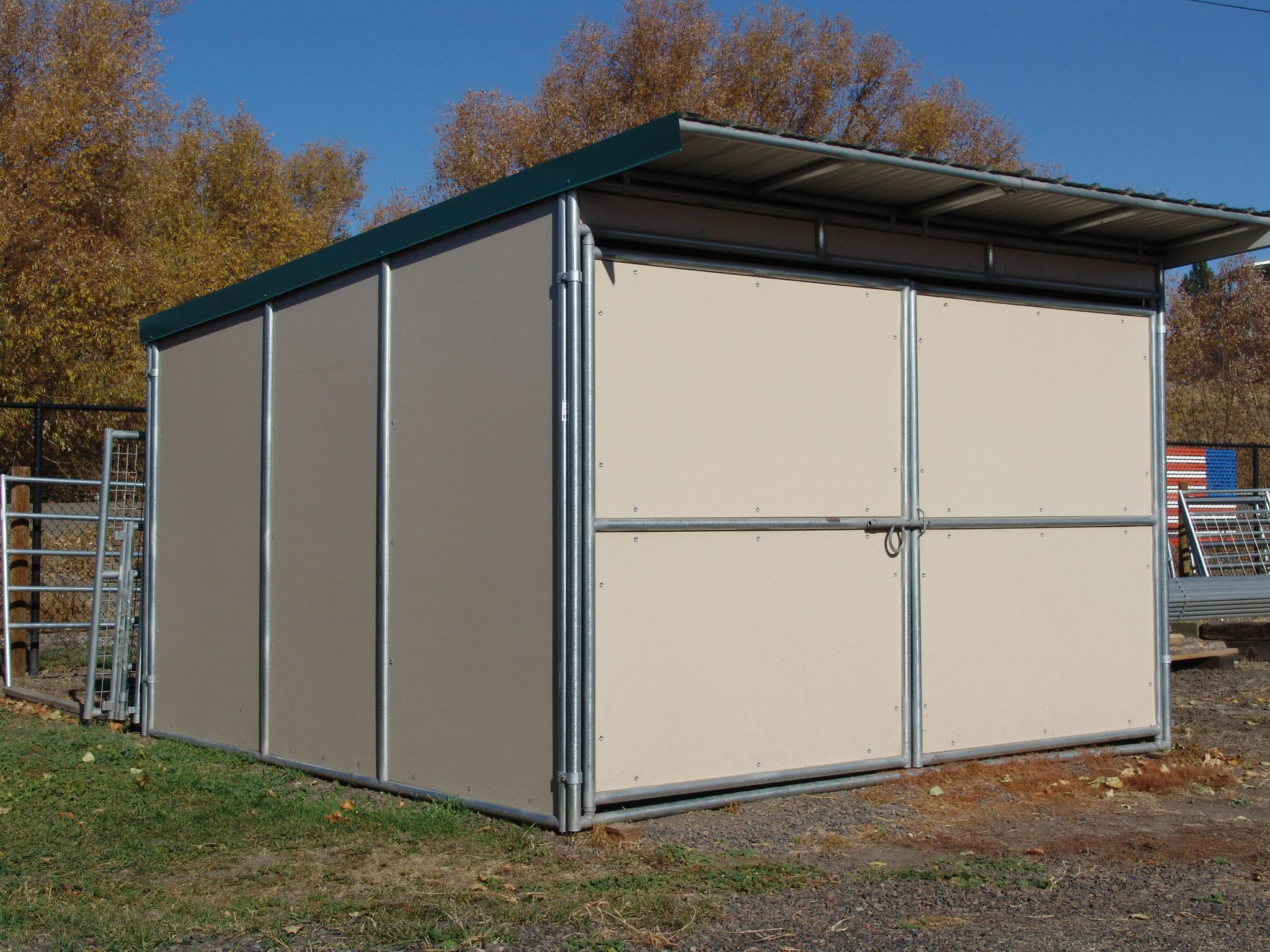 Noble Storage Shelters In 2020 Double Doors Storage Shelters Shelter