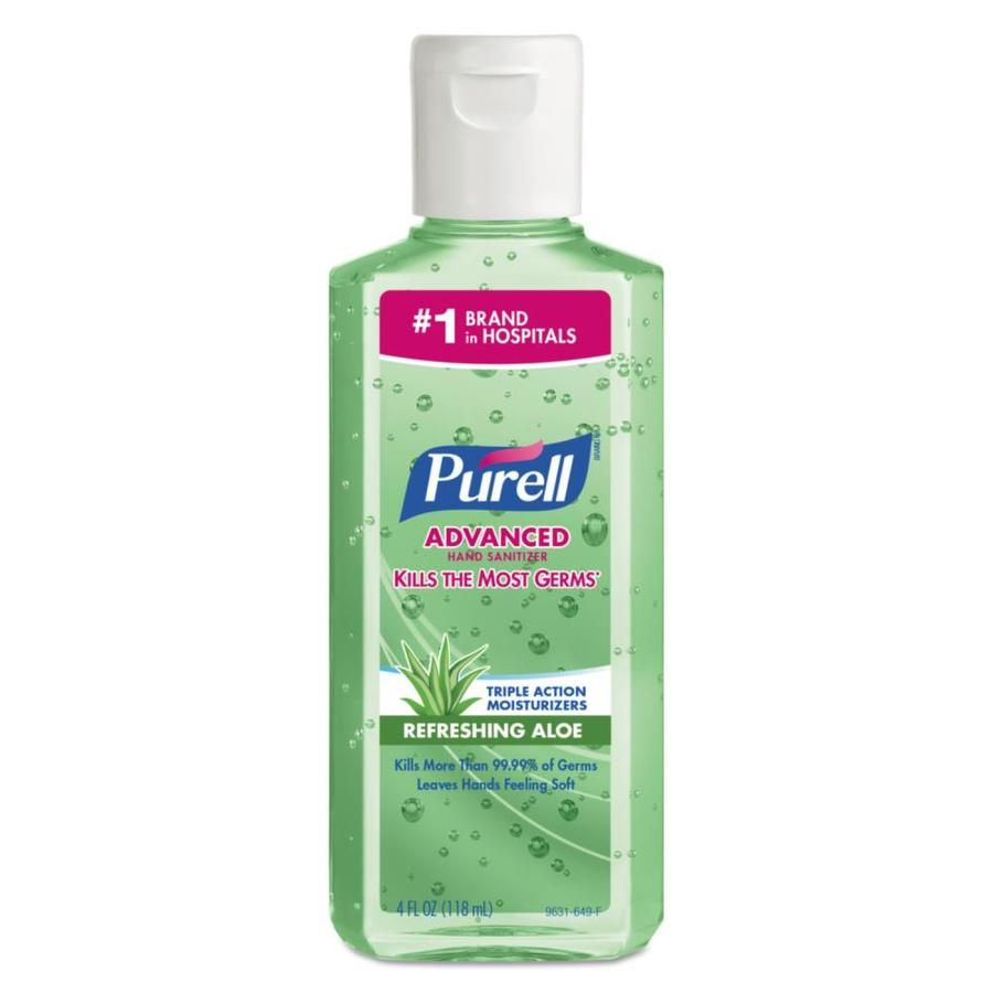 Purell 24 Count Fragrance Free Hand Sanitizer Gel 9631 In 2020