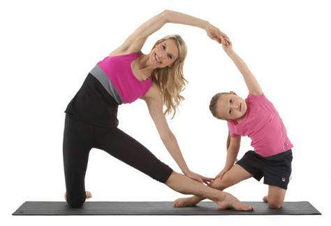 11 yoga poses you can do with your kids http//www