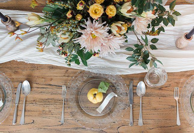 Hochzeit Dekoration Inspiration Herbst Herbstdekoration