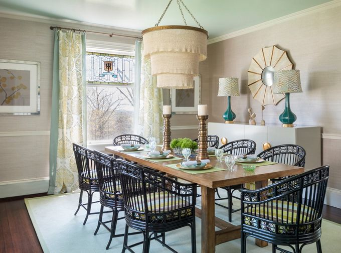 House Of Turquoise Digs Design Company Palladian Blue Soft Yellow Detail In Dining Aqua RoomsTurquoise