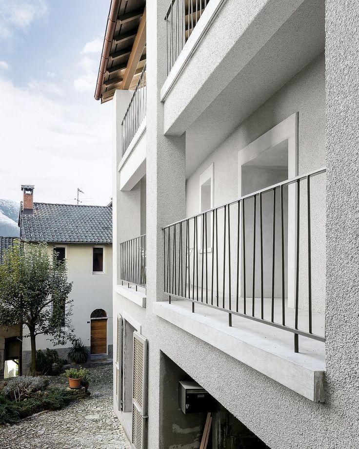Sergison Bates Architects Haus Umbau Monte Castel San Pietro