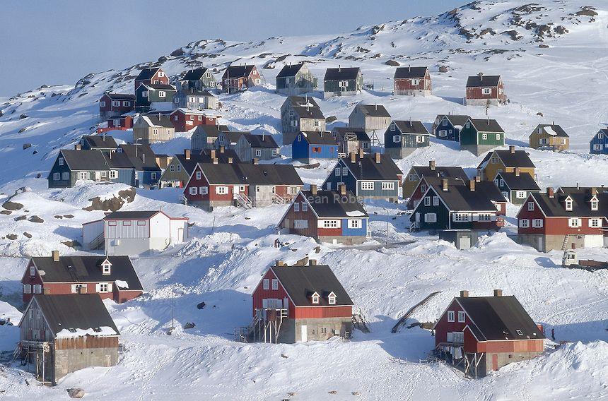 Village de Tassilaq - Groënland