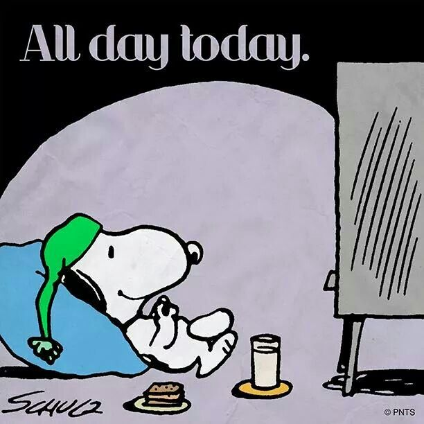 Lazy Day with Snoopy
