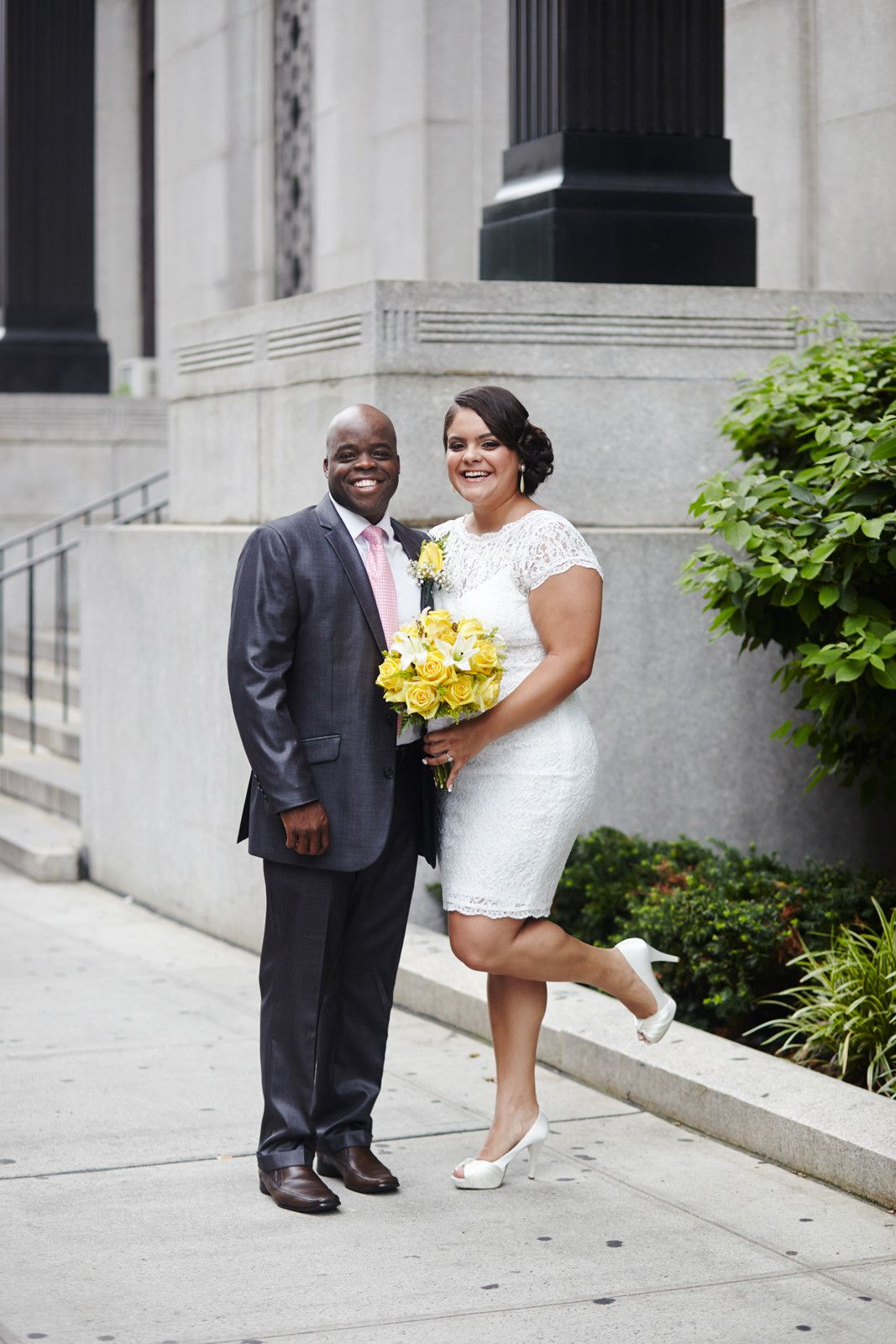 City Hall Wedding Outfits Casual Bridal Gowns City Hall Wedding Dress Courthouse Wedding Dress City Hall Wedding [ 1600 x 1067 Pixel ]
