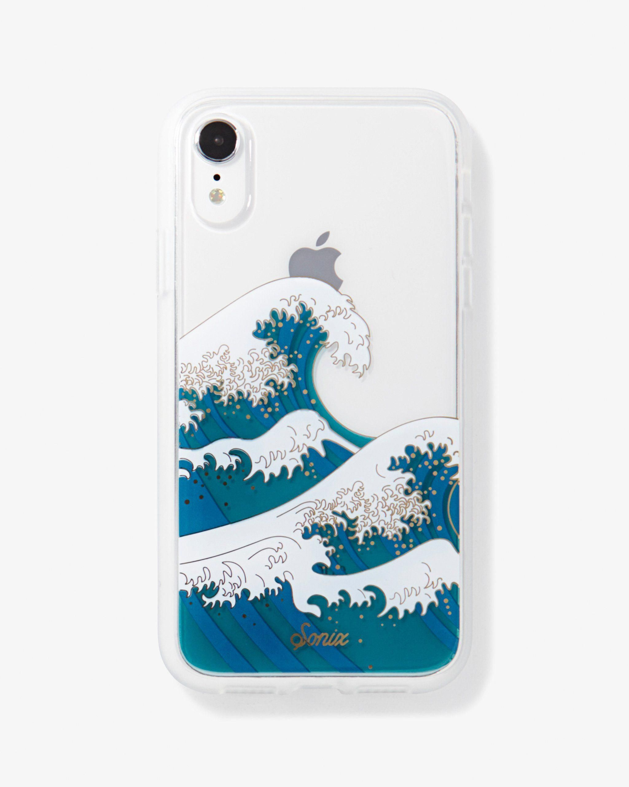 Tokyo Wave Iphone Xr Iphonex Iphone Phone Cases Sonix Case Waves Phone Case