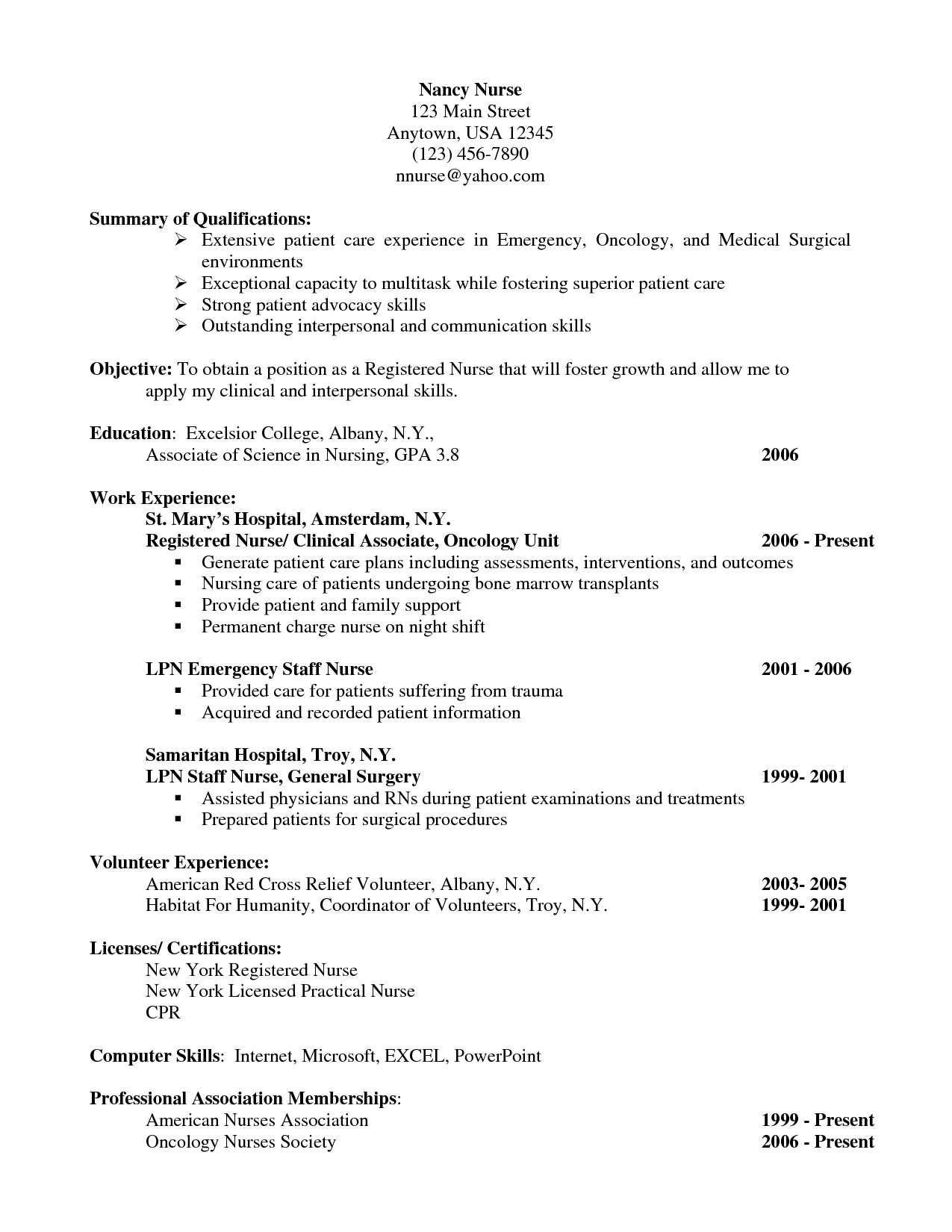 Medical Surgical Nurse Resume Software Developer Sample Resume  Sample Resumes  Sample Resumes