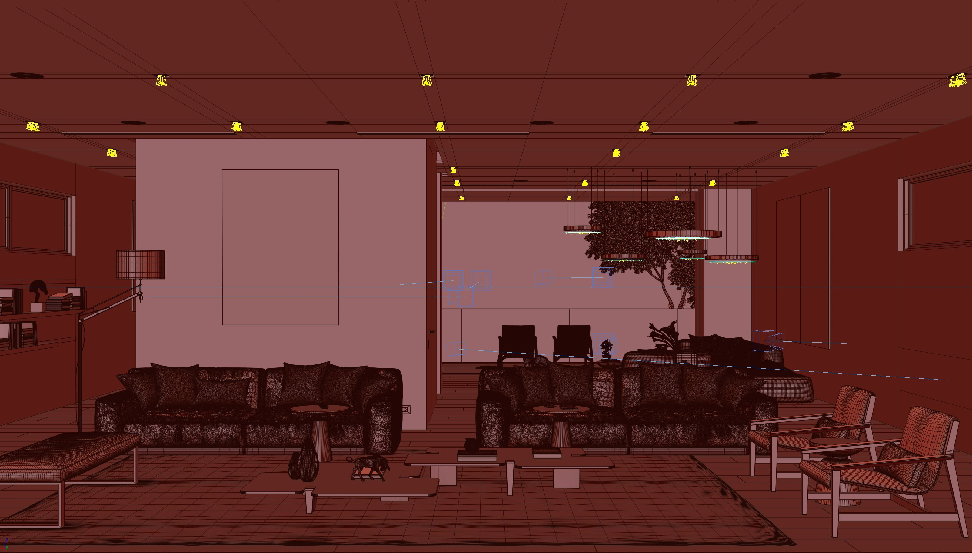 Interior Design 3d Visualization