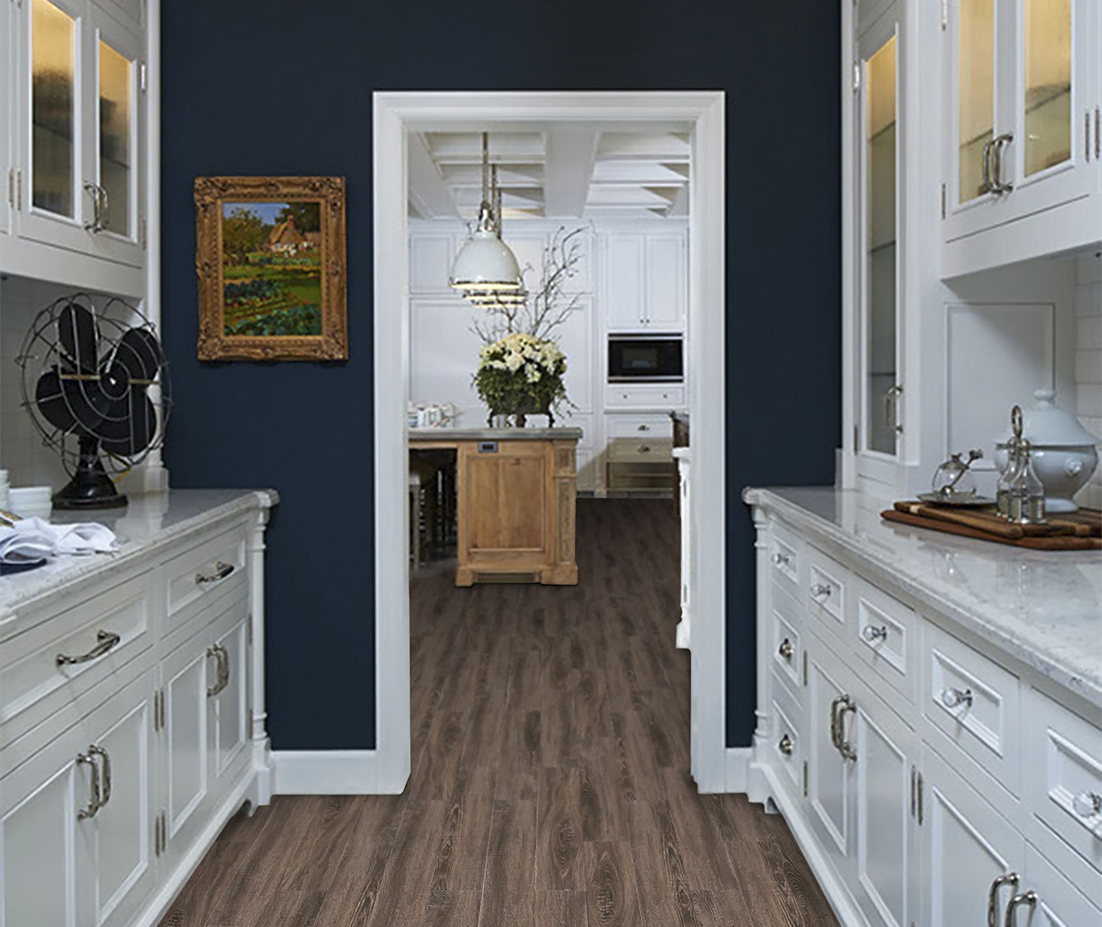 Madiera Oak Wood Look tile. Available at Lowe's. Wood