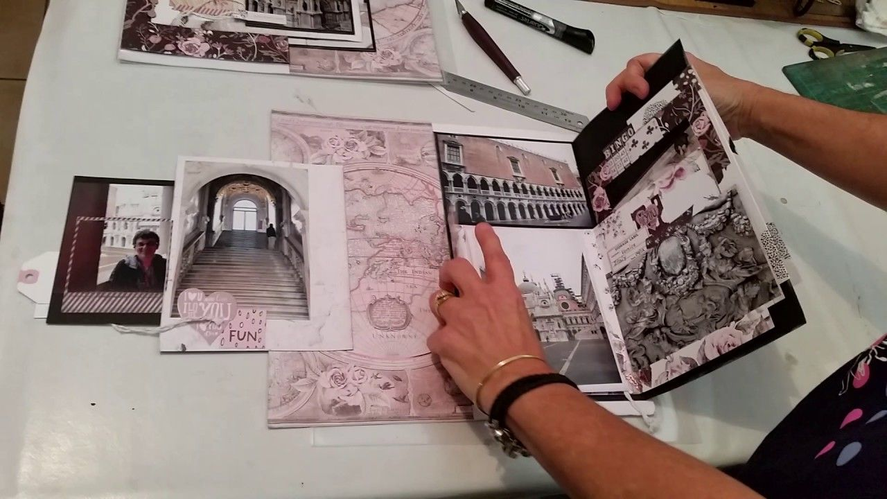 how to make interactive scrapbook pages