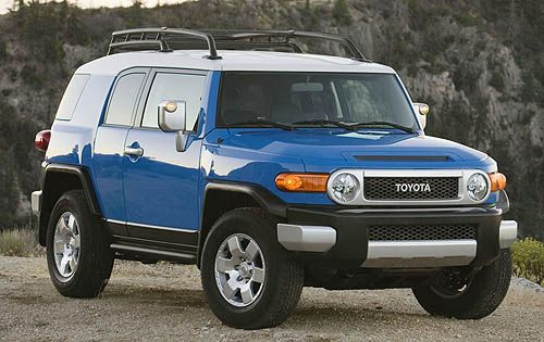 Toyota fj cruiser gas mileage