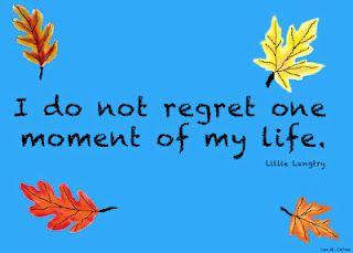 No regrets - ever!