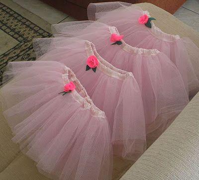 Minha Primeira Costura: Como fazer uma saia de bailarina (tutu) - passo a passo