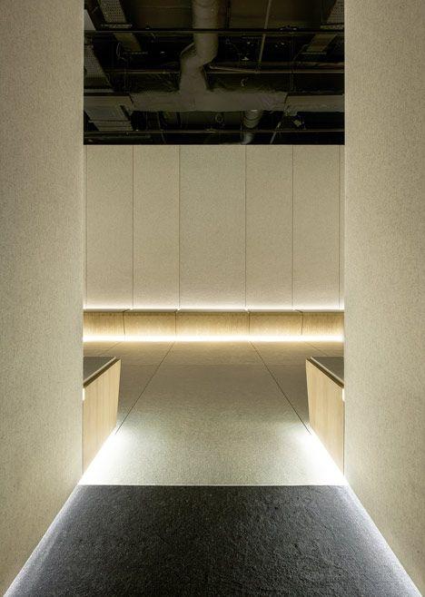 The Silence Room At Selfridges Alex Cochrane Architects