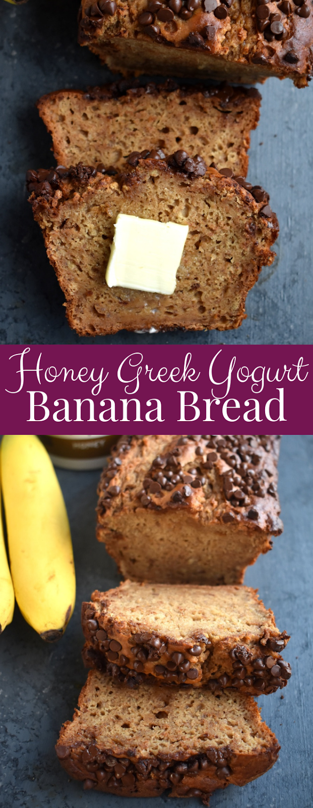 Honey Greek Yogurt Banana Bread -   15 cake Healthy honey ideas