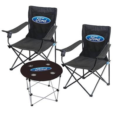 What every #Ford fan needs, folding chairs and table combo $97.95