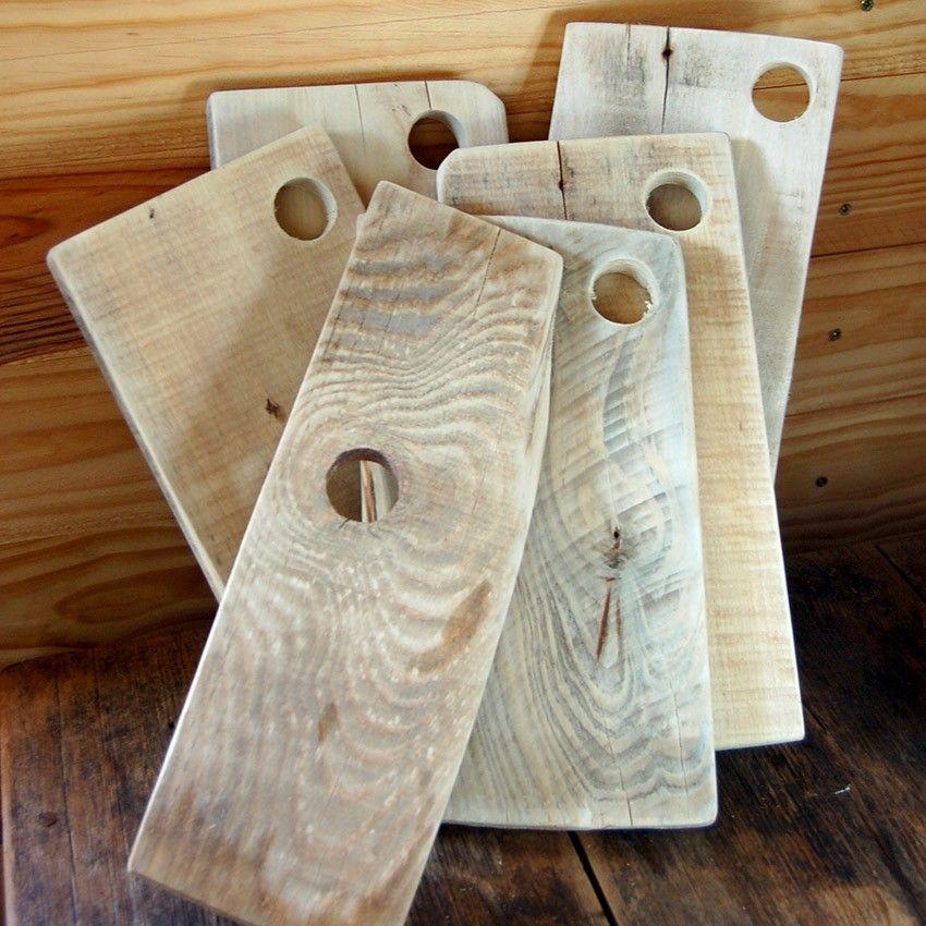 Trío tablas de madera