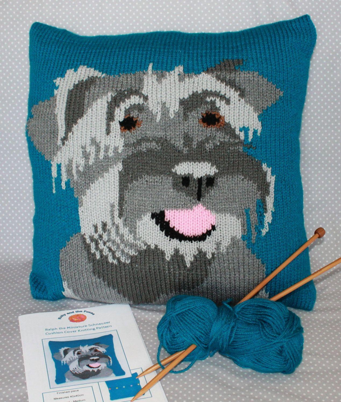 Knitting pattern pdf download miniature schnauzer pet portrait knitting pattern pdf download miniature schnauzer pet portrait cushion cover by rubyandthefoxes on etsy bankloansurffo Choice Image