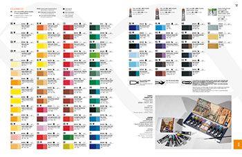 Maimeri Classico Fine Oil Colour Printed Colour Chart Https Www Jacksonsart Com Maimeri Classico Fine Oil Paint P Paint Color Chart Color Chart Paint Print