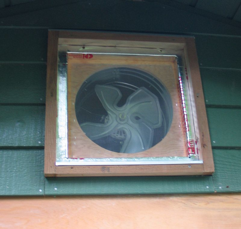 Cool down your house without AC Install an attic fan DIY Tips