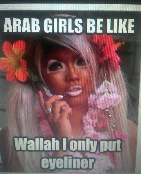Arab girls be like