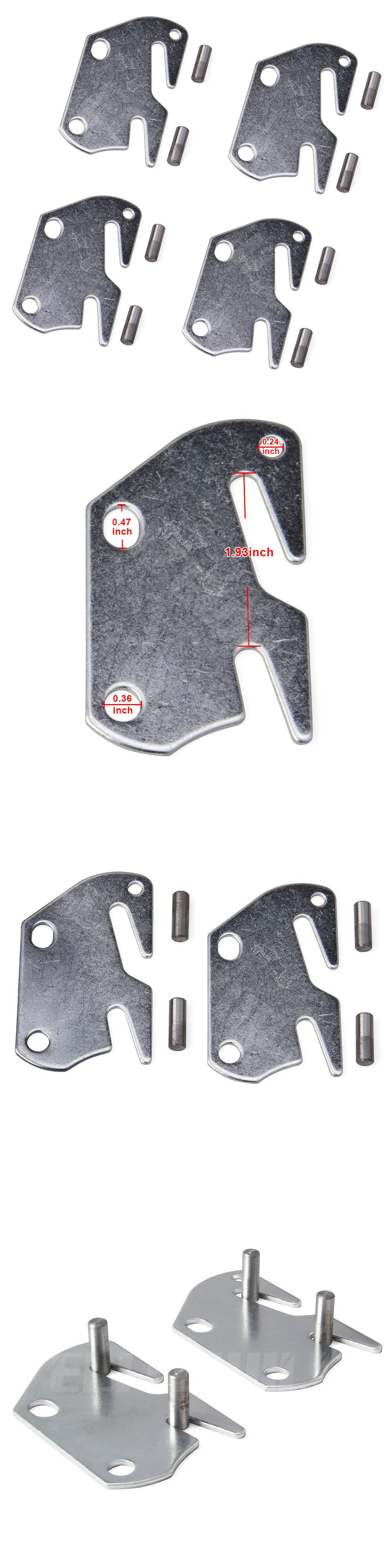Details about Rail Frame Bracket Claw 10 Hook Plates Fit