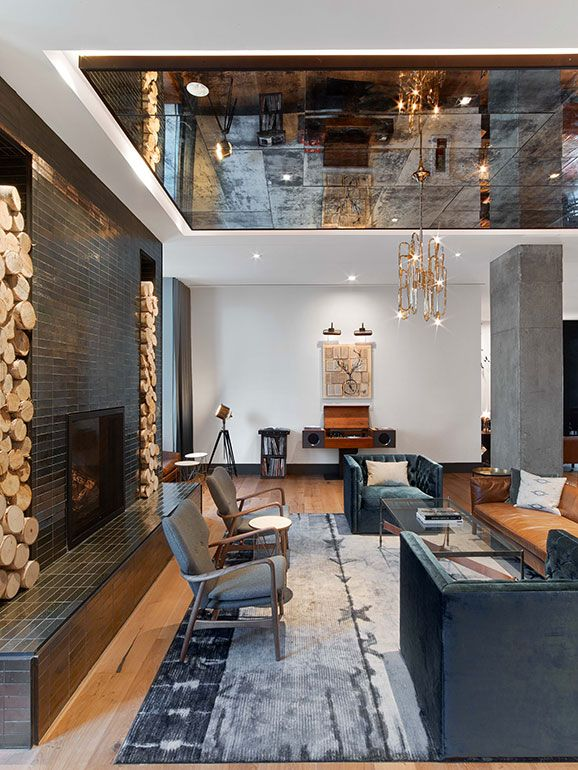 Mark zeff riffs on austin s musical heritage at the hotel for Hotel lobby design trends