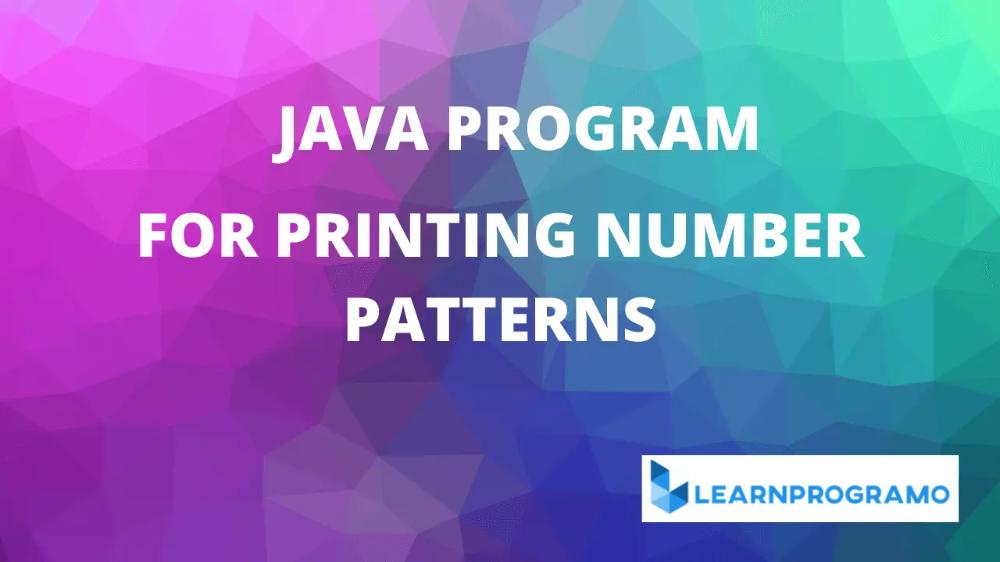 Pin On Java Programs