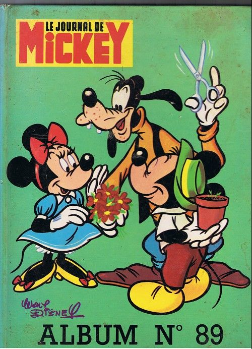 Couverture de (Recueil) Mickey (Le Journal de) -89- Album n°89 (n°1450 à 1461)