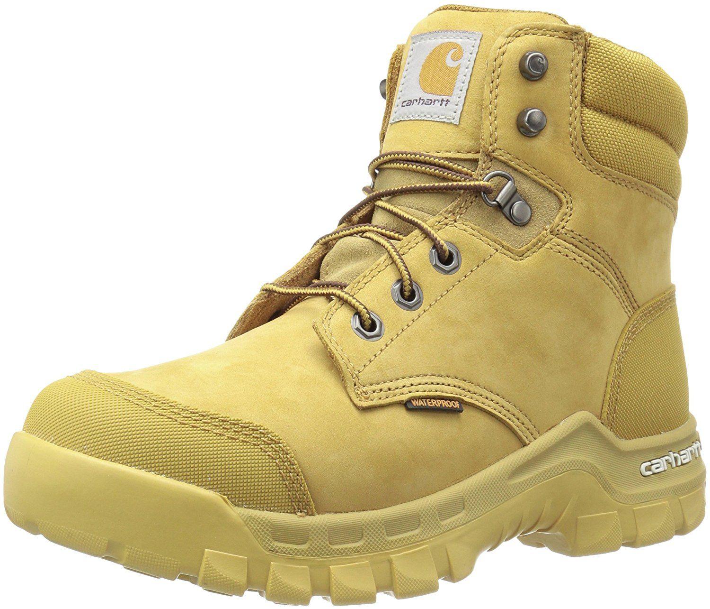 Carhartt mens cmf6056 rugflx 6wheat soft work boot