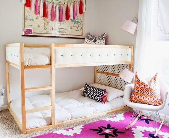 Ikea Hacks Mommo Design Little Pinterest Ikea Bunk Bed Ikea Kura Bed And Bedroom