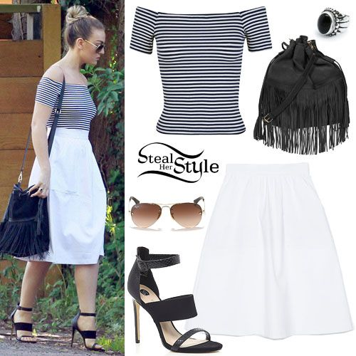 Perrie Edwards Was Spotted In London Yesterday Wearing A Miss