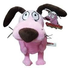 Courage The Cowardly Dog Plush Toy By Jonbusch10 On Deviantart