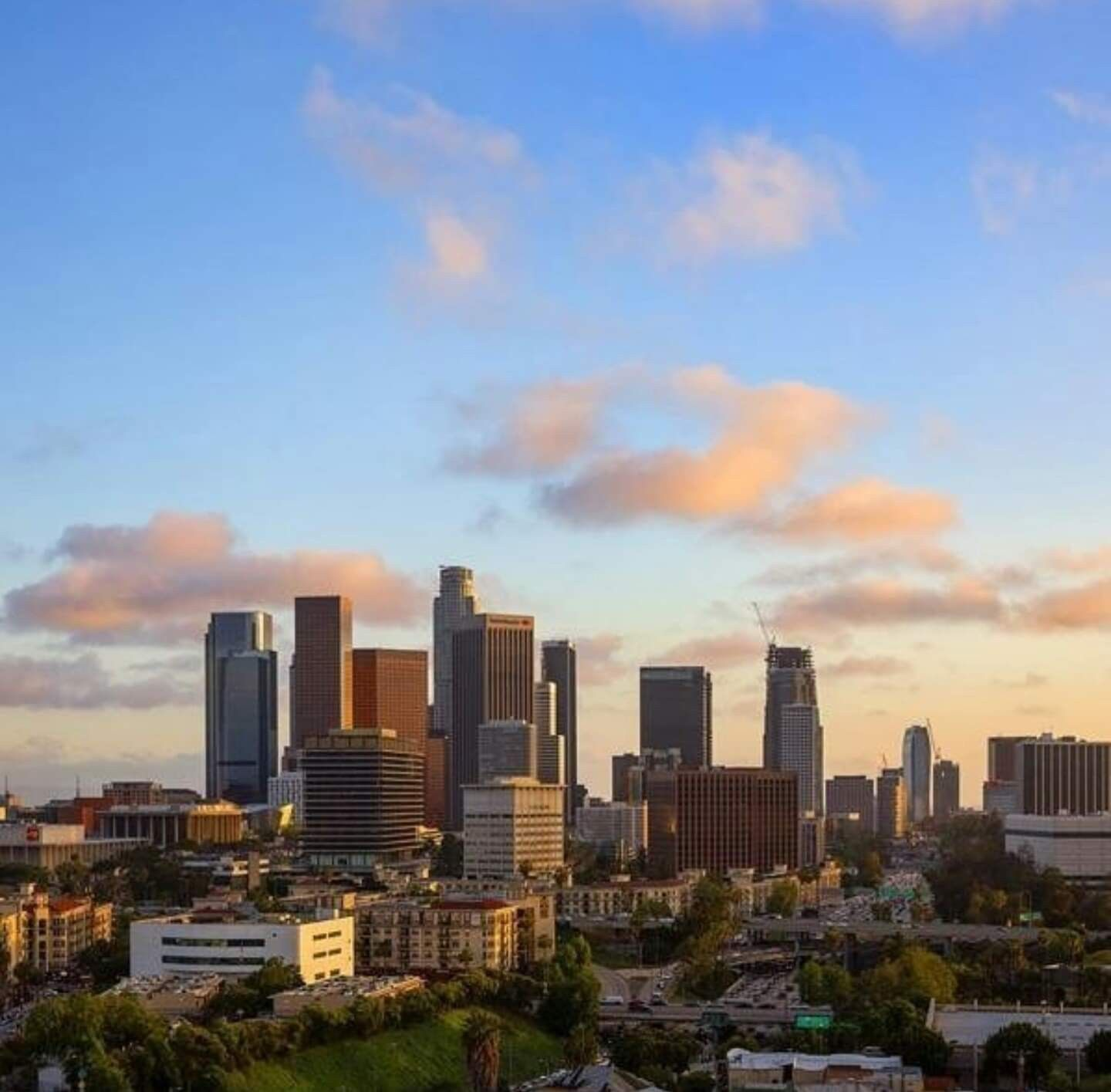 Los Angeles #city #downtown #skyline (With Images
