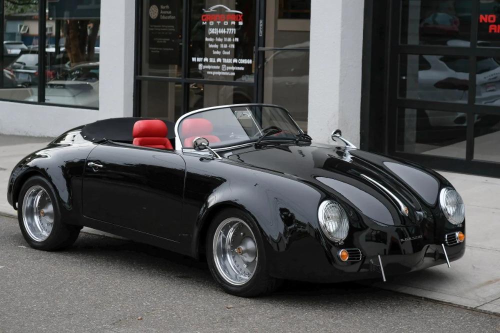Used 1960 Porsche 356 Speedster Replica For Sale Portland Or 2538280 In 2020 Porsche 356 Speedster Porsche 356 Porsche 356 Replica