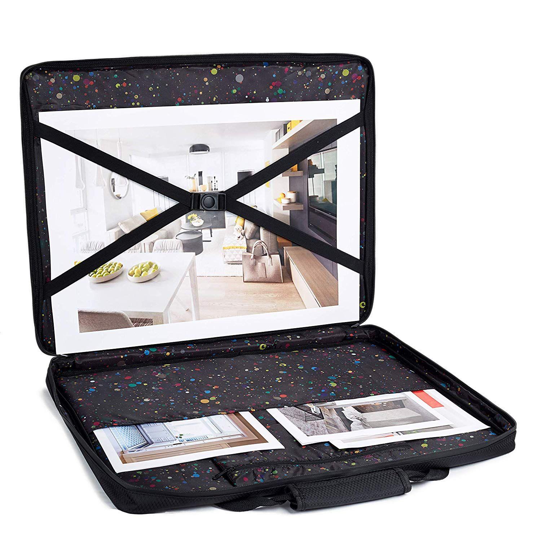 Art portfolio case waterproof portfolio
