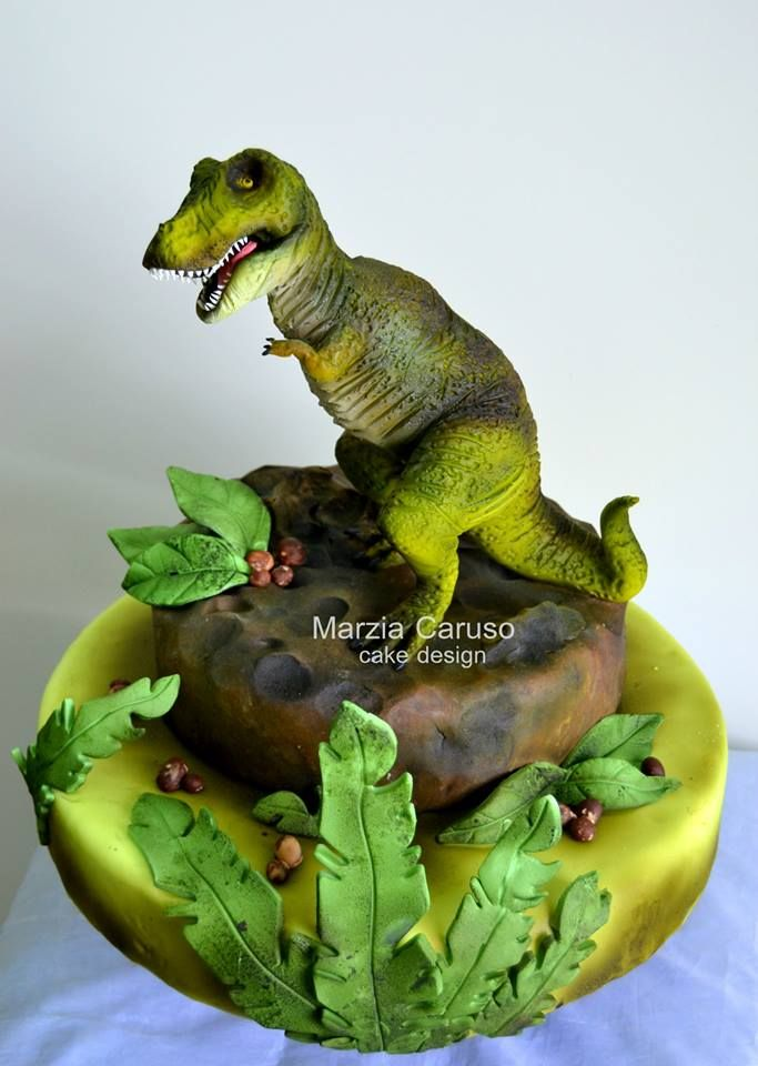 Marzia caruso cake design g teaux rigolos trop beaux g teau dino et gateau rigolo - Dinosaure rigolo ...