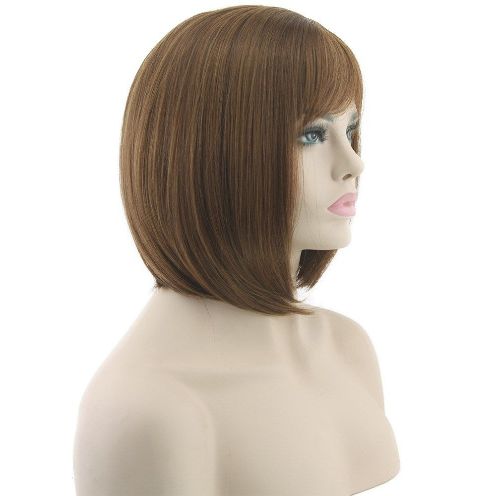 Short Hair Mushroom Head Wig #Ad , #SPONSORED, #Hair, #Short