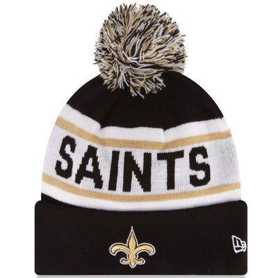 9369fe9230b Mens New Orleans Saints New Era Black Biggest Fan Redux Knit Beanie ...