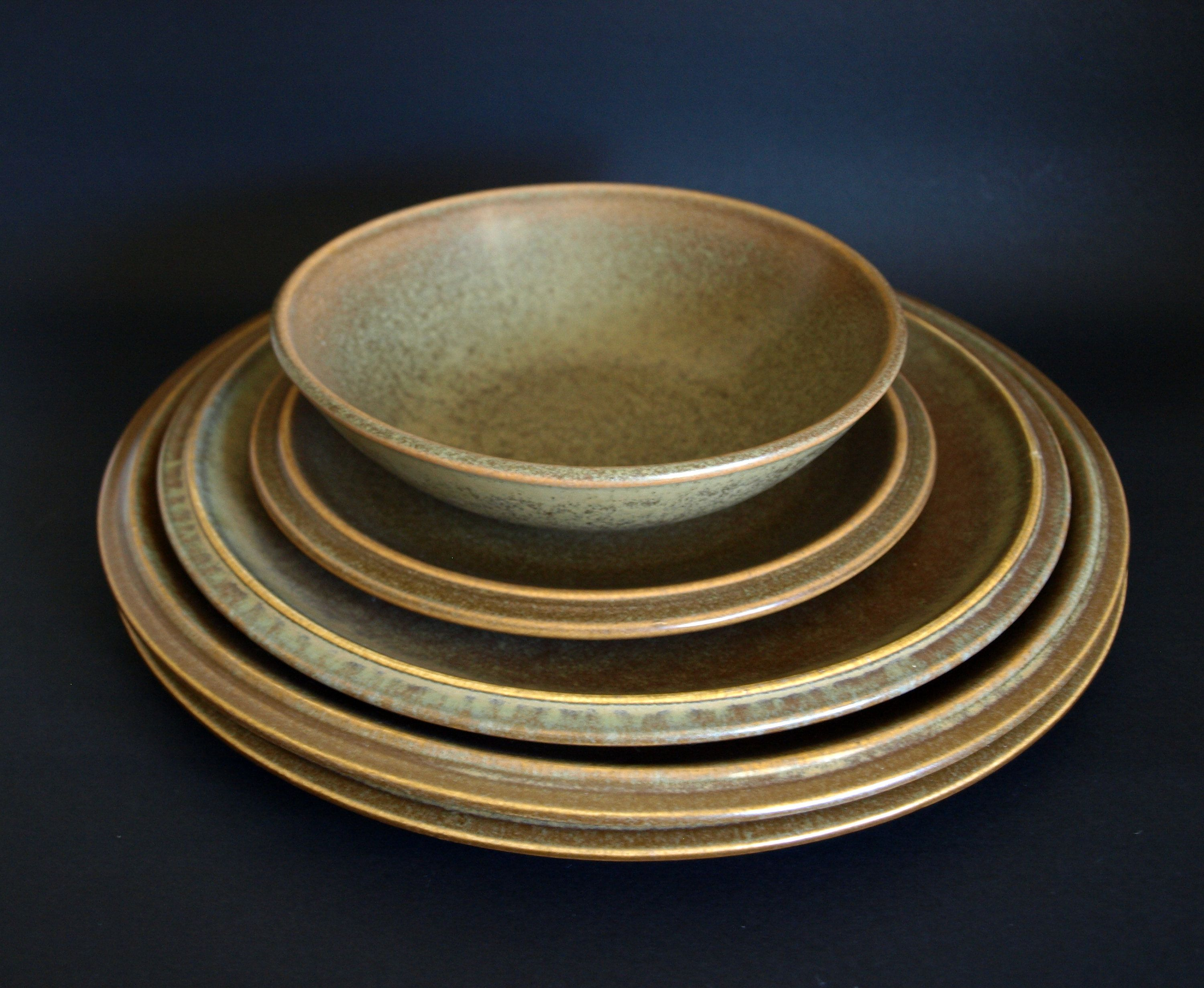 Temuka Pottery Riverstone Dinnerware Lot Of 5 Pieces Vintage Etsy Dinnerware Pottery Plates